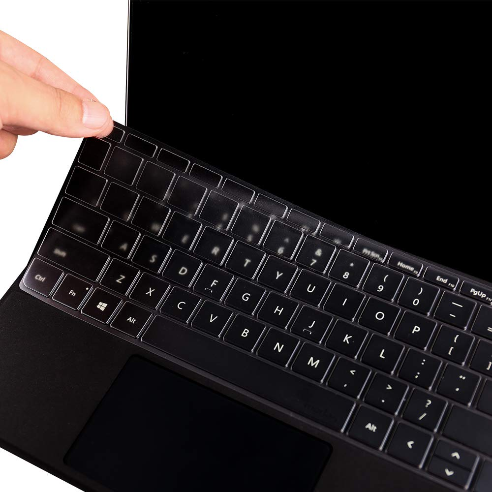 VFENG Ultra Thin Clear TPU Keyboard Cover for
