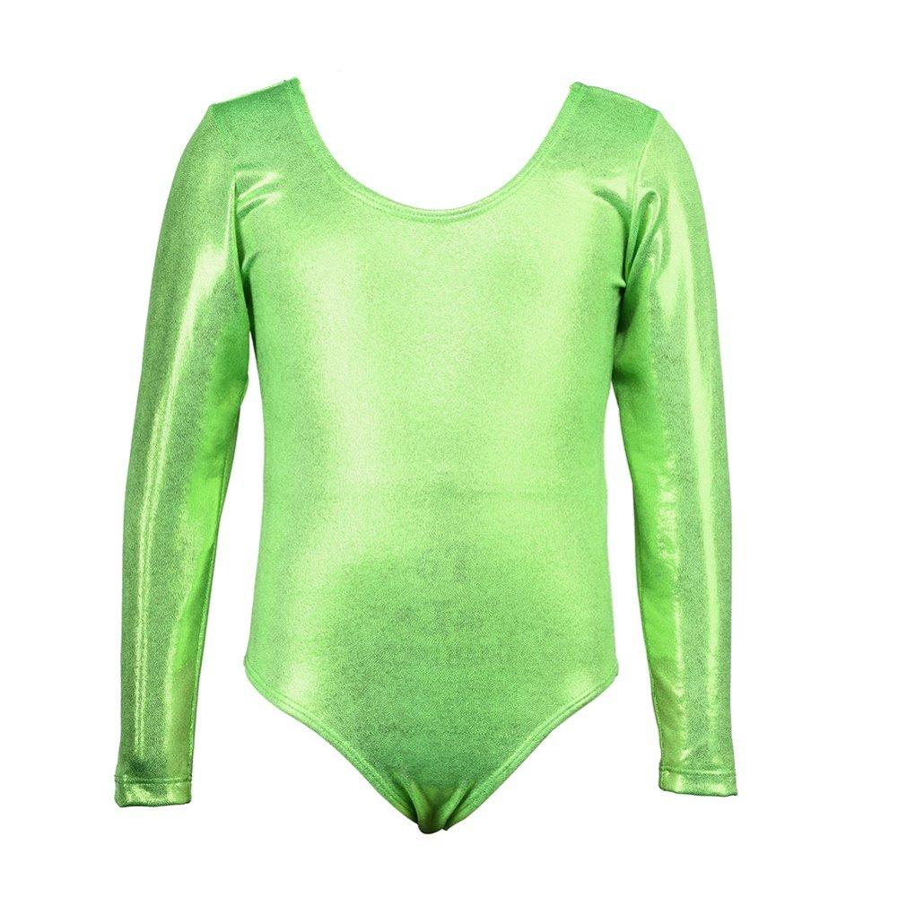 Little Girls Ballet Leotards Gymnastics Long Sleeve Dance Dress for Kids 3-11T Girl Best Choice