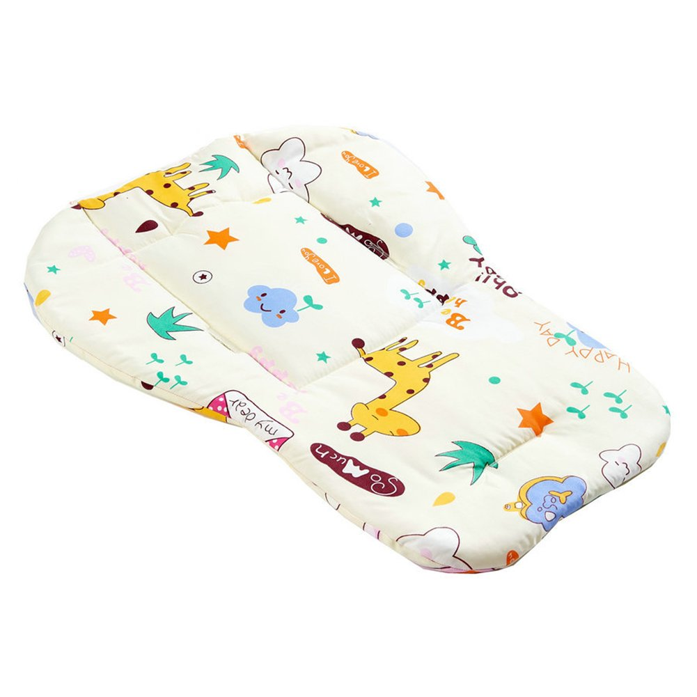 Steellwingsf Baby Stroller Pushchair Seat Cartoon Cushion Cotton Mat Soft Thick Pad