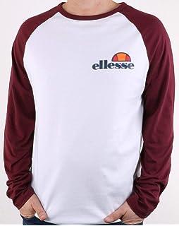 9920e4e0 ellesse Casalina Crop Top Long Sleeve T-Shirt Women Black 14 UK L ...