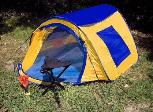 Pop Up Tenda istantanea tenda automatica in blu giallo diverse