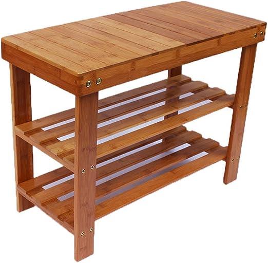 Mesa de comedor pequeña de bambú de tres capas, mesa cuadrada ...