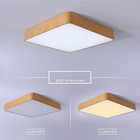 Plafoniera Camera da letto quadrata Semplice Lampade da ...