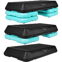 SportVida Stepbank voor aerobic, stepbank voor fitness, 70 x 36 cm, in hoogte verstelbare stepper voor thuis en buiten…