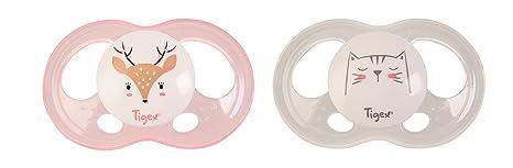 Tigex 84000083 - Chupete Soft Touch para niña: Amazon.es: Bebé