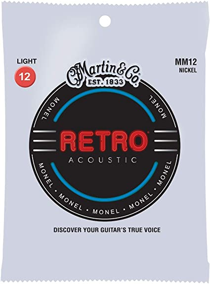 Martin Retro Acoustic MM12 Guitar Strings
