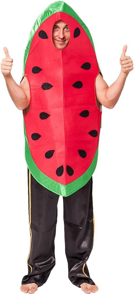 EraSpooky Disfraz de sandía con Sabor a Fruta de la Comida Traje ...