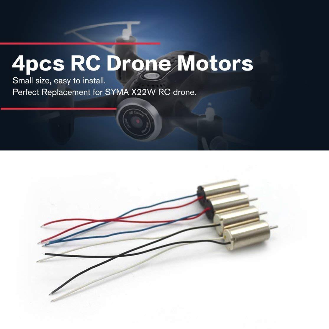 Kaemma 4 Piezas RC Drone Motors CCW CW Motor Motor Drone Repuestos ...