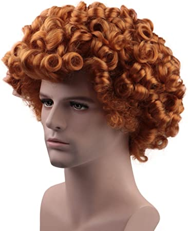 Transilvania poco Dennis peluca estilo marrón disfraz Cosplay hm ...