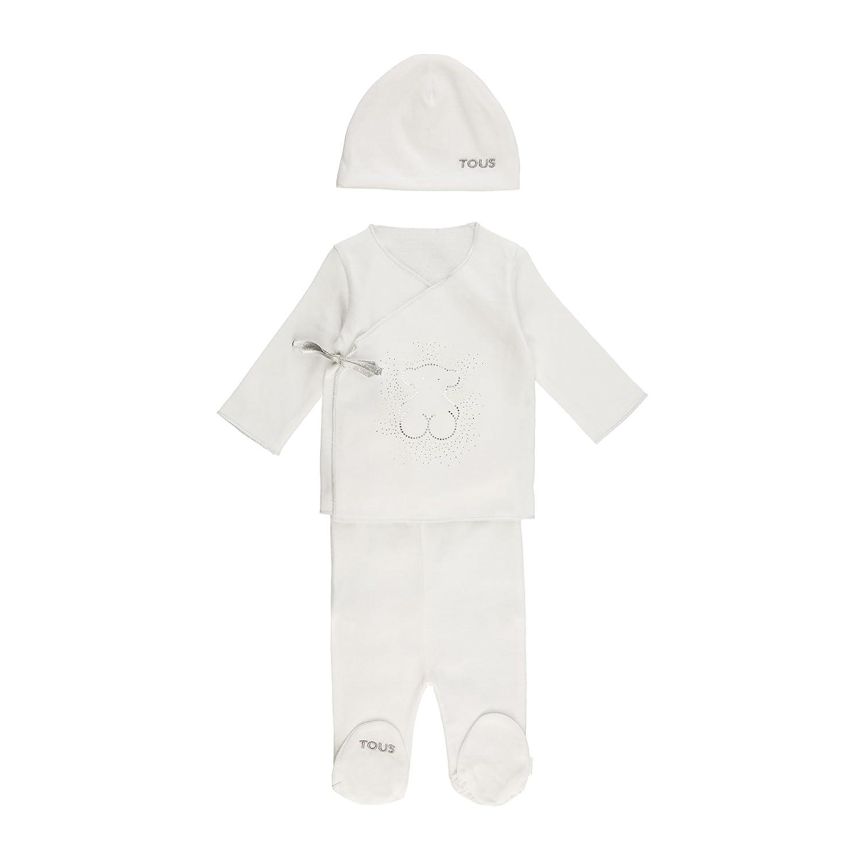 Regalos Para Bebes Recien Nacidos Tous.Tous Baby Crown 802 Conjuntos De Pijama Blanco 00001 50