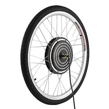 YESPER 26 Pulgadas 500 W 36 V Rueda Delantera para Bicicletas eléctricas Plug-It para Herramientas nachrüstsatz E-Bike Conversion Kit Buje con: Amazon.es: ...