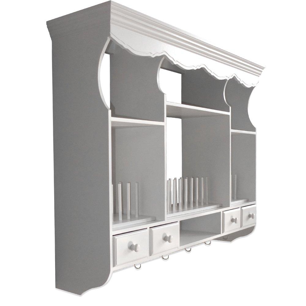 k chen wandregal landhaus. Black Bedroom Furniture Sets. Home Design Ideas