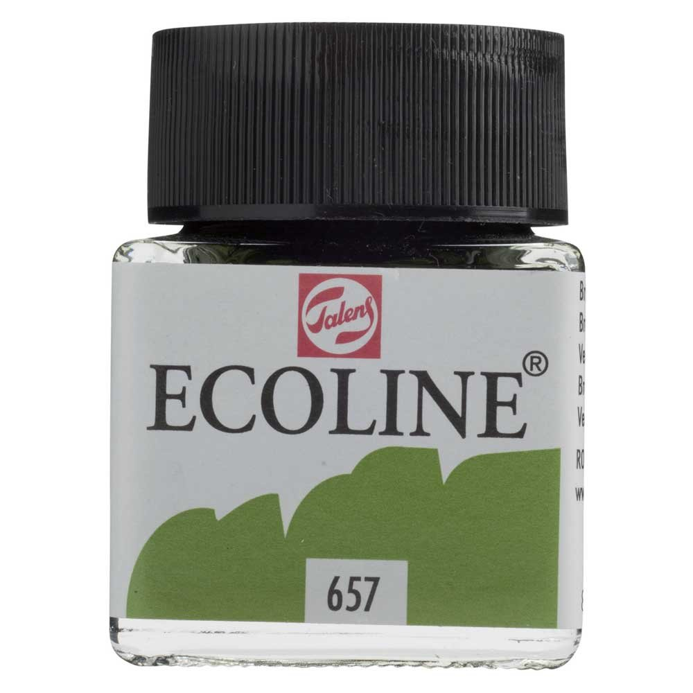 Ecoline Royal Talens Ecoline 液体水彩絵の具 30 Ml グリーン 11256570 B008D1L92Q 30 Ml|Bronze Green Bronze Green 30 Ml