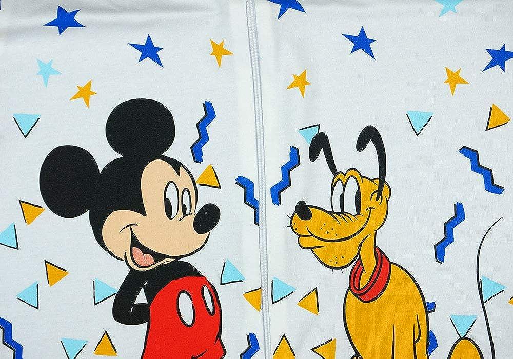 Saco de Dormir de Verano sin Mangas para ni/ño 80 100/% algod/ón 68 dise/ño de Mickey Mouse Talla 56 86 D/ÜNN 104 92 Disney Baby 98 62 no Forrado 110 74