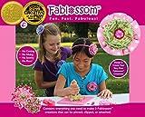 Fablossom Fabric Starter Kit: DIY Kit to Design & Create Fabric Flowers for Headbands - Best Craft for Girls