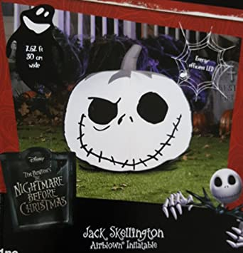 Amazon.com: Nightmare Before Christmas Jack Skellington Pumpkin ...