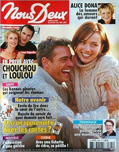 Téléchargez des livres gratuits pour iphone kindle NOUS DEUX [No 2891] du 26/11/2002 - ALICE DONA - A. LAMY ET JEAN DUJARDIN - LES PLANTES - NOTRE AVENIR - CUISINE - LE CIDRE - L'EDUCATION D'UNE GEISHA. in French RTF B0047UF2GG