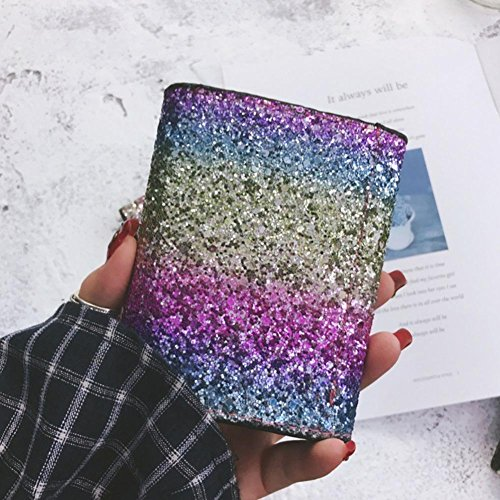 Bag Coins Purse Square Widewing Small Wallets Short Clutch Women PU Gorgeous Square IqqwtaxUp