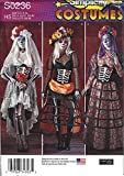 Best  - Simplicity Costumes S0236 Misses Costumes Halloween Catrina Size Review
