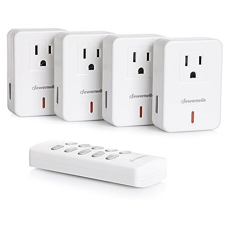 Amazon.com: DEWENWILS - Interruptor de encendido y apagado ...