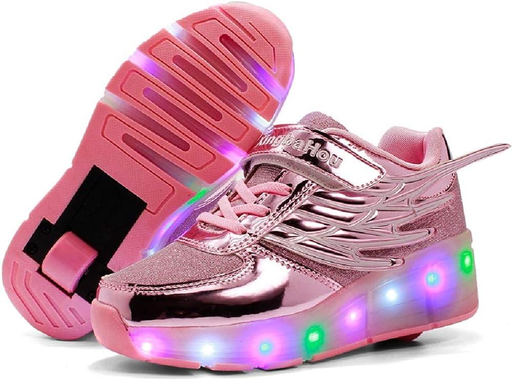 Ehauuo Unisex Kids LED Light up
