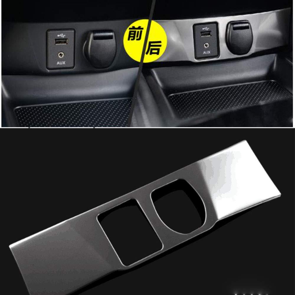Cubierta protectora para el panel de cigarrillos para Qashqai J11 X-Trail T32 AUX USB