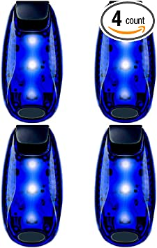 3 Pack Clip on Flashing Strobe Light High Visibility for Running Jogging Walking Cycling for Kids Dogs Bicycle Helmet Bike Tail light LED Safety Lights + FREE Bonuses