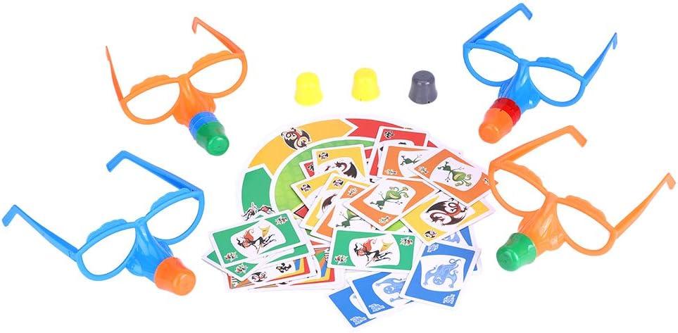 Lecxin Conjunto de Coloridos Juegos de Mesa portátiles de plástico y Papel, Juegos de Mesa interactivos y duraderos para la Fiesta de niños Adultos en el hogar: Amazon.es: Hogar