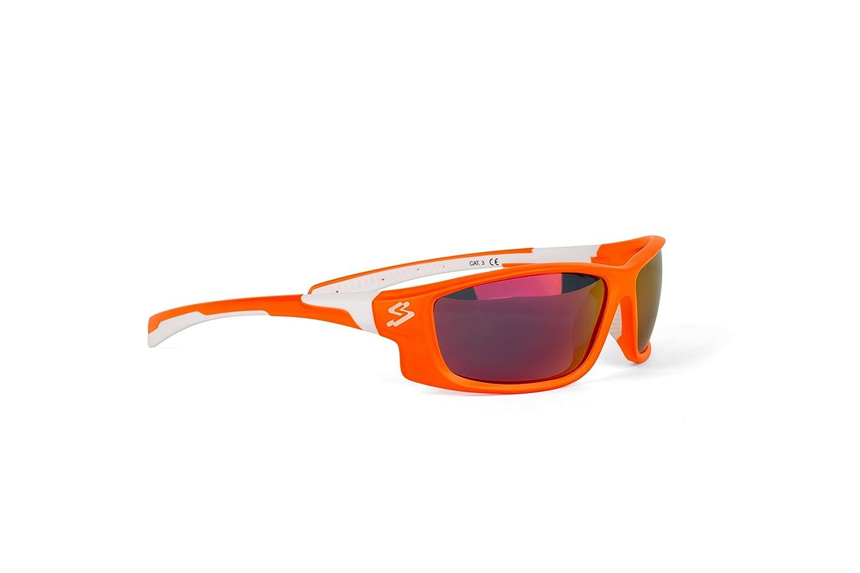 Spiuk Spicy - Gafas de Ciclismo Unisex, Color Naranja Mate/Blanco: Amazon.es: Deportes y aire libre