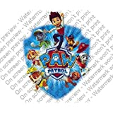 PAW PATROL Cake Topper Edible Image Picture Frosting Sheet Cake Topper by A Birthday Place