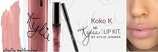 product image for New Female Kylie Jenner Cosmetics Long Lasting Lipstick Lip Gloss Liquid Matte Lip Liner Makeup (KOKO K)