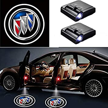 Newsun LED 2/ pezzi di auto porta proiettore laser Welcome logo Light