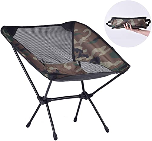 CHEN HAO Outdoor Ultralight Portable Folding Chairs with Carry Bag Heavy Duty 250lbs Capacity Camping Folding Chairs for Outdoor Camp, Travel, Beach, Picnic, Festival, Hiking