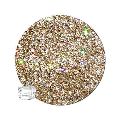 Glitter My World! Fine Glitter Cosmetic Holographic: Goldeneye - World Cosmetics
