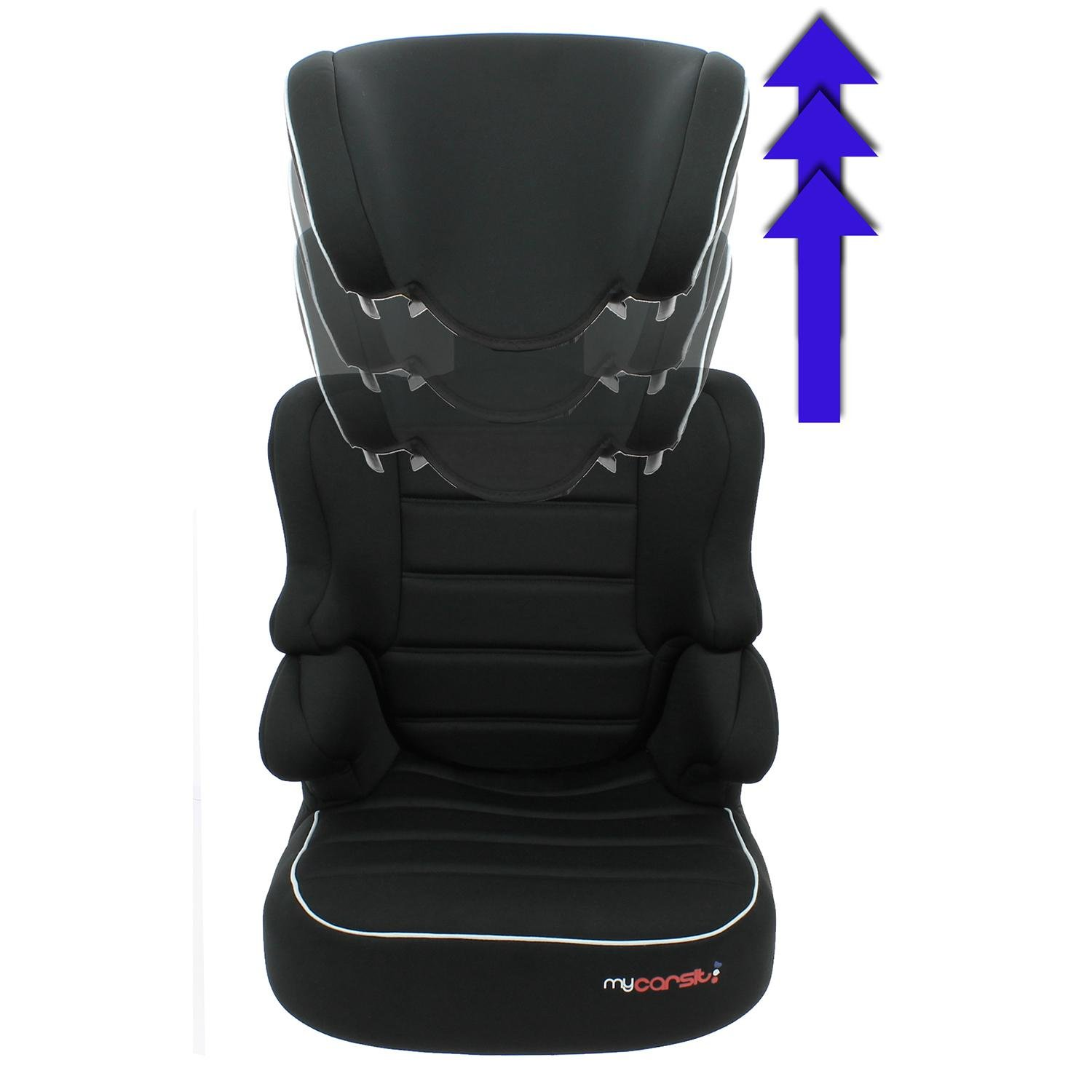 Carseat Highback Booster with harness - Group 1/ 2/3 2