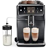 Saeco Xelsis SM7684/04 Super Automatic Espresso Machine, Titanium Metal Front (Renewed)