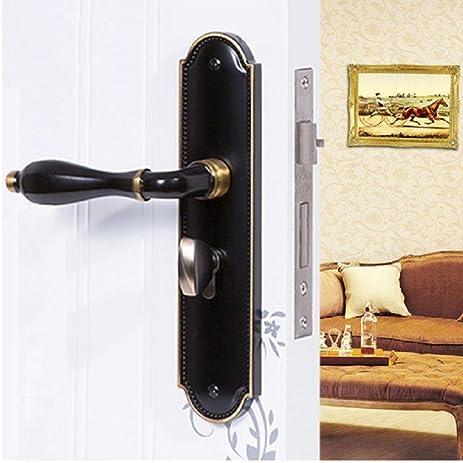 daeou bedroom door lock door handle marbles mortar lock - Bedroom Door Lock