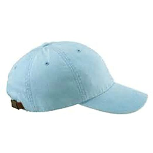 Adams Monogrammed 6-Panel Low-Profile Washed Pigment-Dyed Cap (Baby Blue a96300d8a503