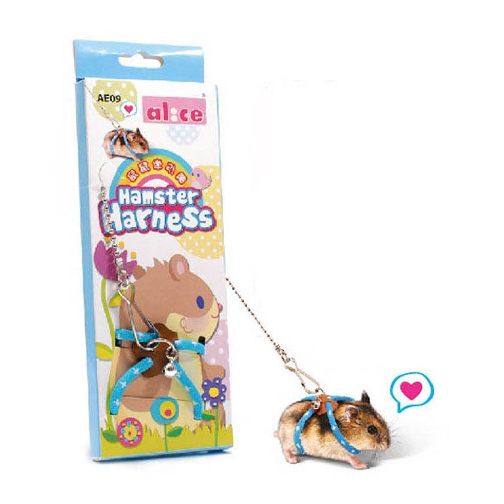 Harnais et laisse réglable pour hamster avec gilet , idéal pour rat hamster, gerbille, et chinchilas TJW