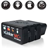 vgate vLinker MC+ Bluetooth OBD2 Car Diagnostic Scan Tool for iPhone, Android, and Windows
