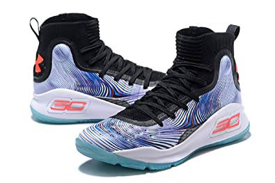 9245b0ea7f39 UnderArmour UA Curry 4 MoreMagic Men s High Top Black Basketball Shoes ...