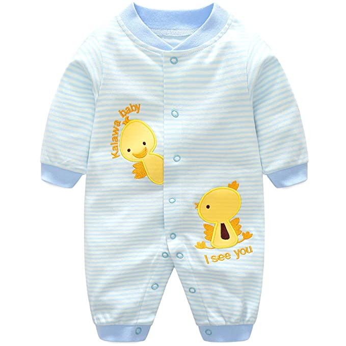 2840038eb Baby Rompers Cotton Onsises Boys Girls Long Sleeve Sleepsuit ...