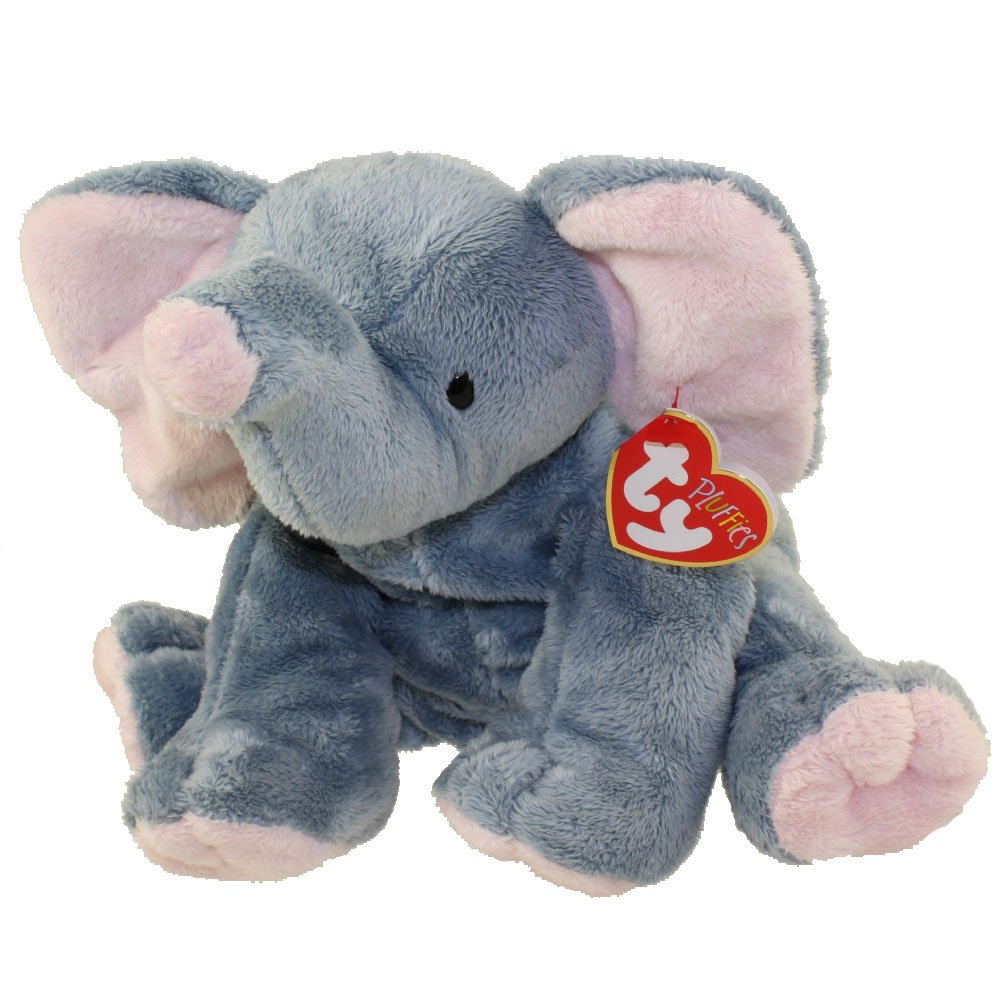 TY Pluffies – ウインクThe Elephant ( 8インチ) Plush Baby Toy B01NBD3K8Q