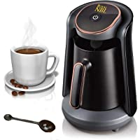 Royal NBL Automatic Turkish Coffee Maker Machine, 1 to 4 Cups, Cordless Electric Coffee Pot, Electric Turkish Coffee…