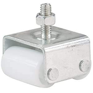 Shepherd Hardware 9441 7/8-Inch Threaded Stem Appliance Caster, Dual Wheels, 4-Pack