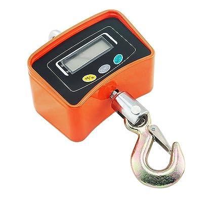 Onechance balanzas electrónicas, 500kg / 200g escala multifuncional electrónica gancho (disponible WIM),