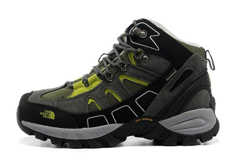 Waterproof hiking shoes slip Sneaker grey green 6.5 D(M)US=38EU