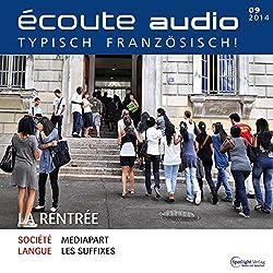 Écoute audio - La rentrée. 9/2014