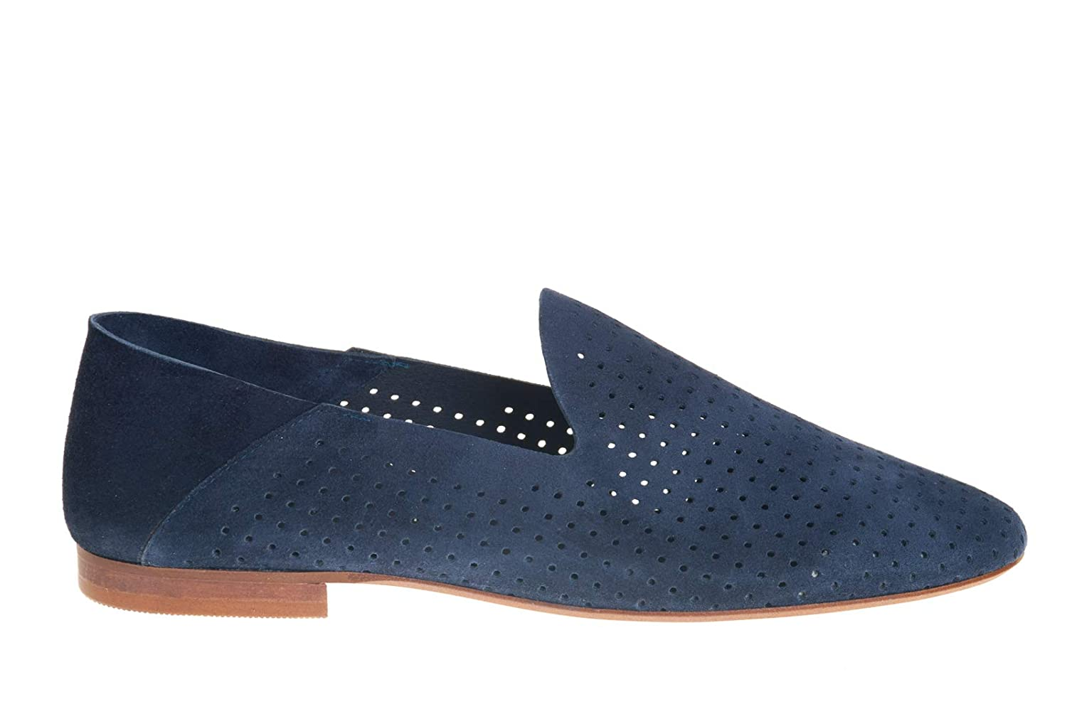 PEDRO PEDRO PEDRO MIRALLES chaussures Mocassino femmes 13102 Baby Suede Marino a6a