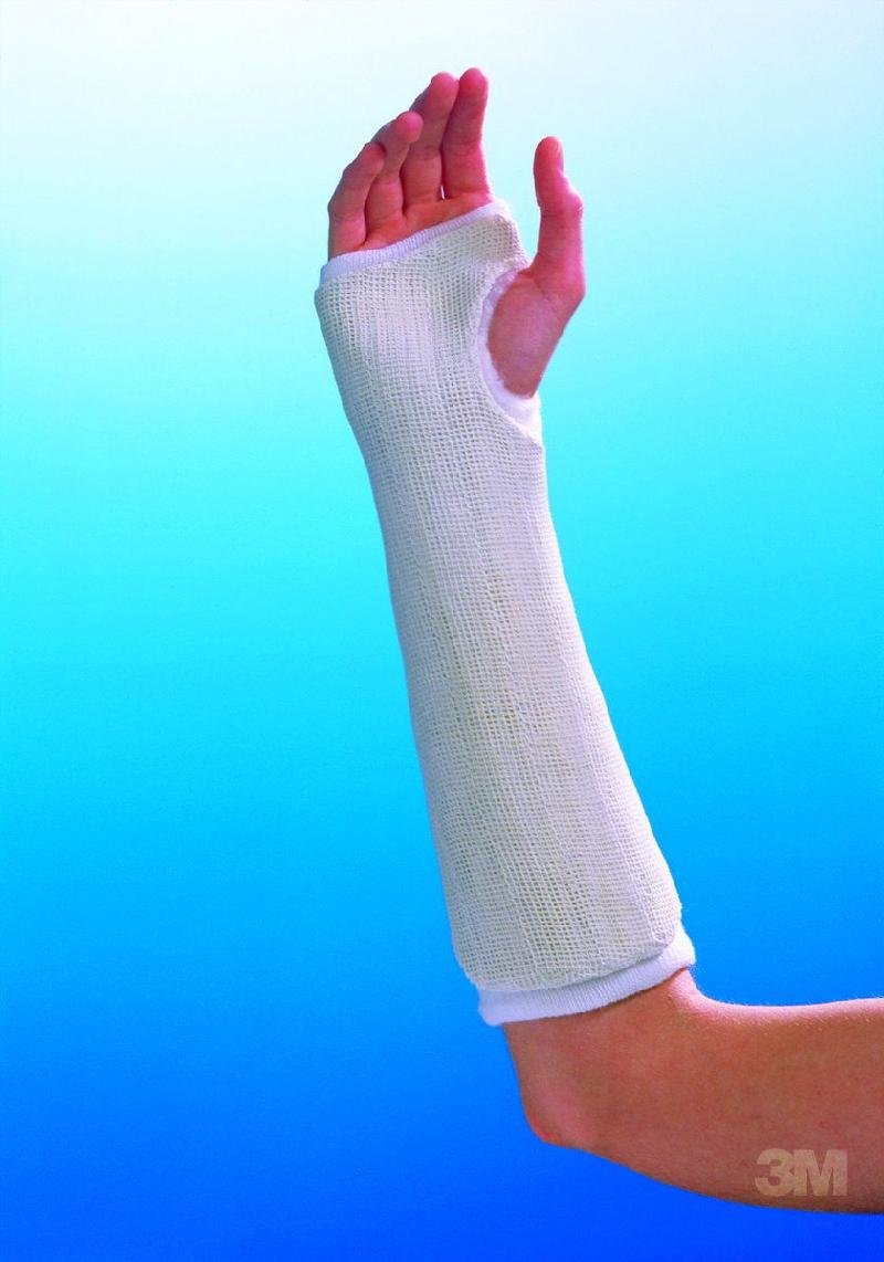 Image of 3M Health Care 30830 Primacast Splint, Unpadded (Pack of 10) Bunion Splints